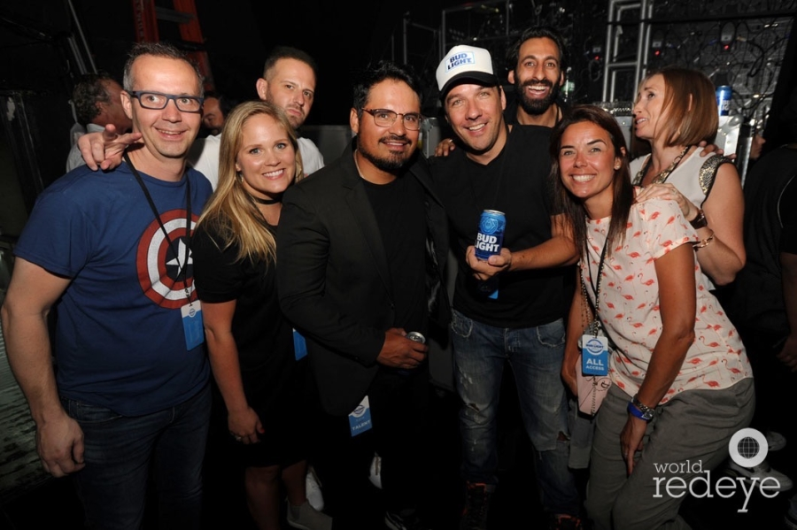 Michael Pena & Bud Light Team