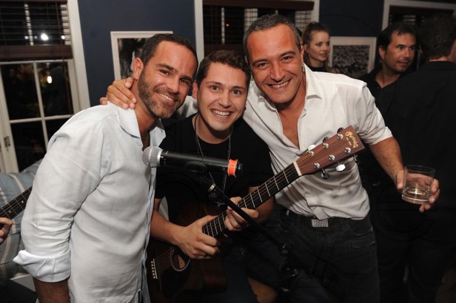 Ronnie Vogel, Cris Cab, & Lorenzo Landini