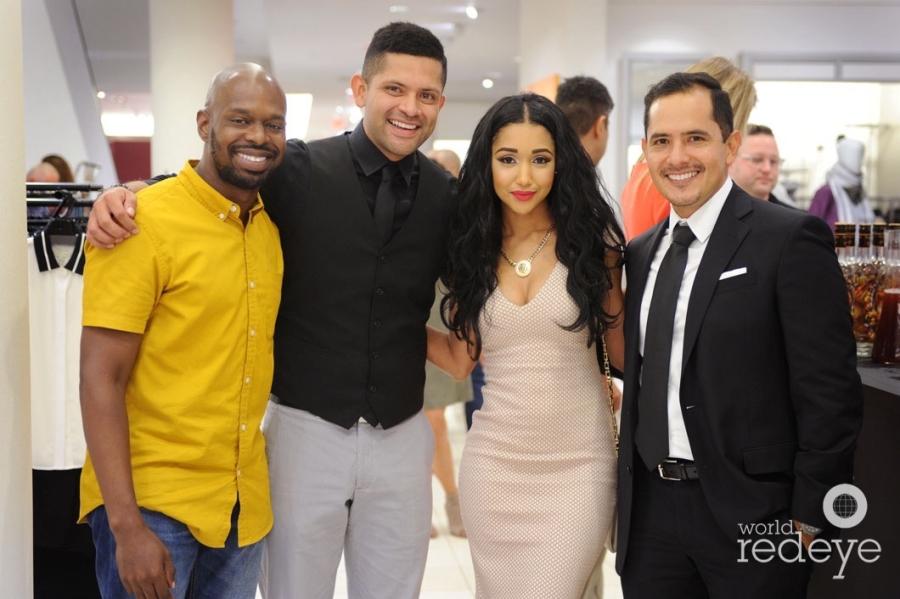 Fabrice O, Lionel Solis, Khaleah Evelyn, & Windsor Rodriguez