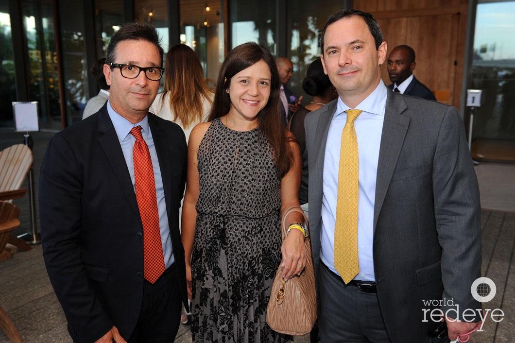 Oscar Rodriguez, Alexandra Calandriello, & Carlos Iafigliola