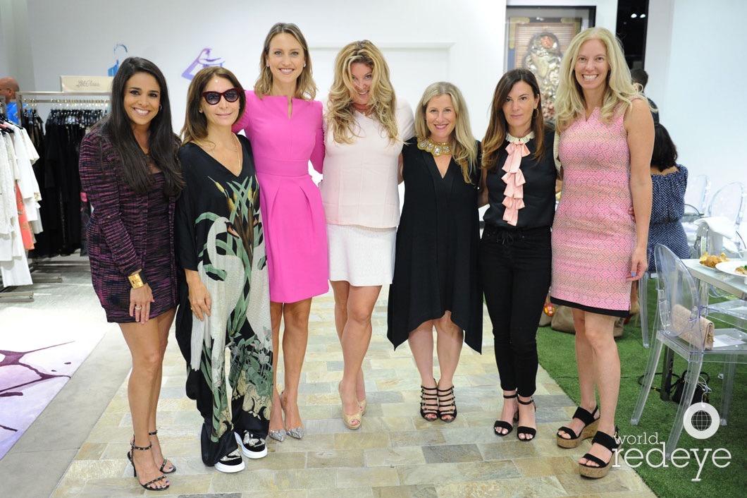 Stephanie Sayfie Aagaard, Xiemena Caminos, Kinga Lampert, Lara Shriftman, Stacey Glassman, Sarah Harrelson, & Michelle Rubell