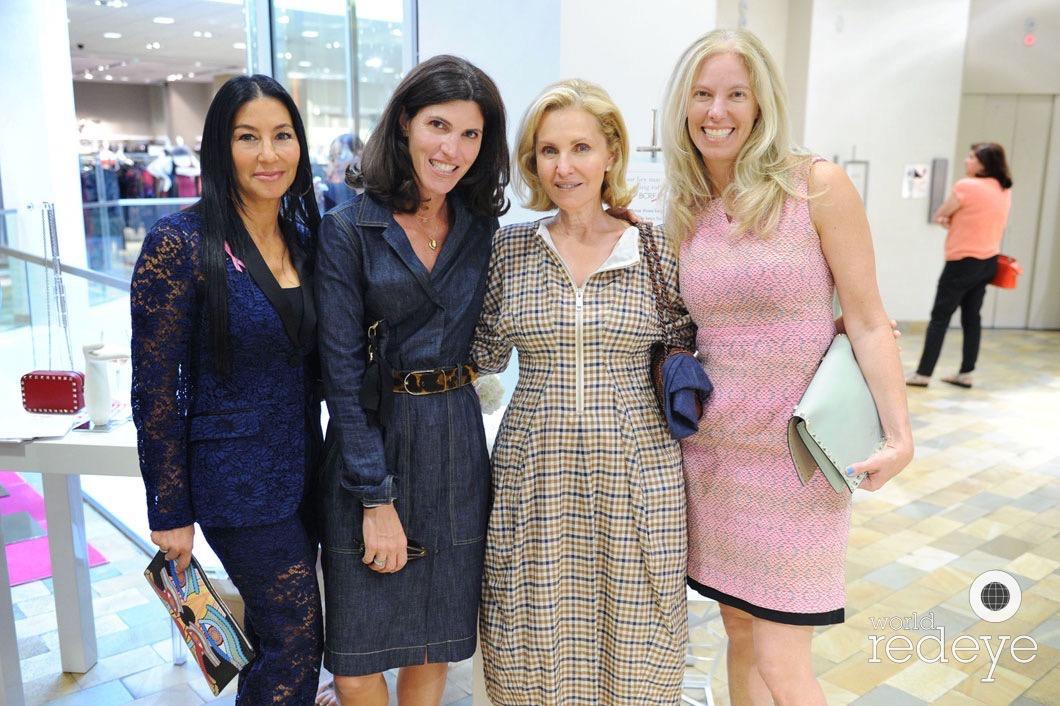 Renee Gans, Tiffany Speyer, Trudy Cejas, & Michelle Rubell
