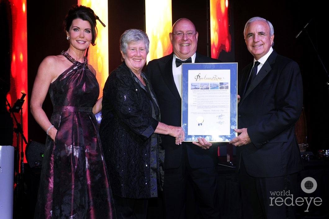 Laurie Jennings, Sally Heyman, Carlos Fernandez Guzman, & Mayor Carlos Gimenez