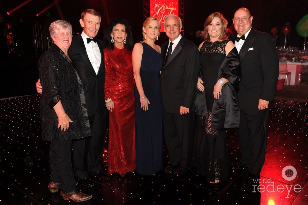 Sally Heyman, Dan Bell, Trish Bell, Lourdes Portela Gimenez, Mayor Carlos Gimenez, Maria Elena Fernandez Guzman, & Carlos Fernandez Guzman