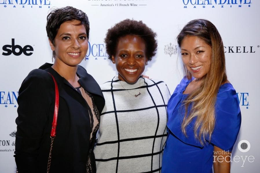 Janet Moreira, Tarah Timothee, & Alisa Meding