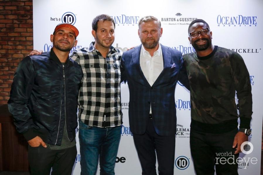 Aaron Salgado, Jared Shapiro, Thomas Meding, & DJ Irie