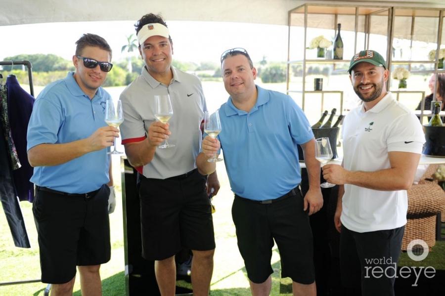 Travis Theobald, Mike Piazza, James Rule, & Adam Martinez
