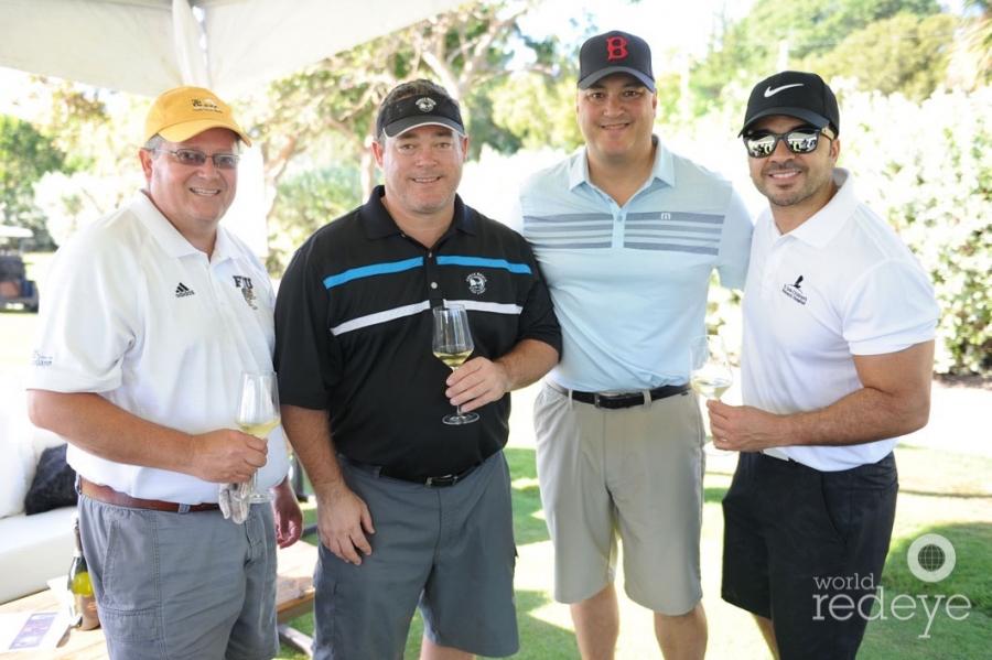 Ed Vargas, Sidr Roberson, Matt Werner, & Luis Fonsi