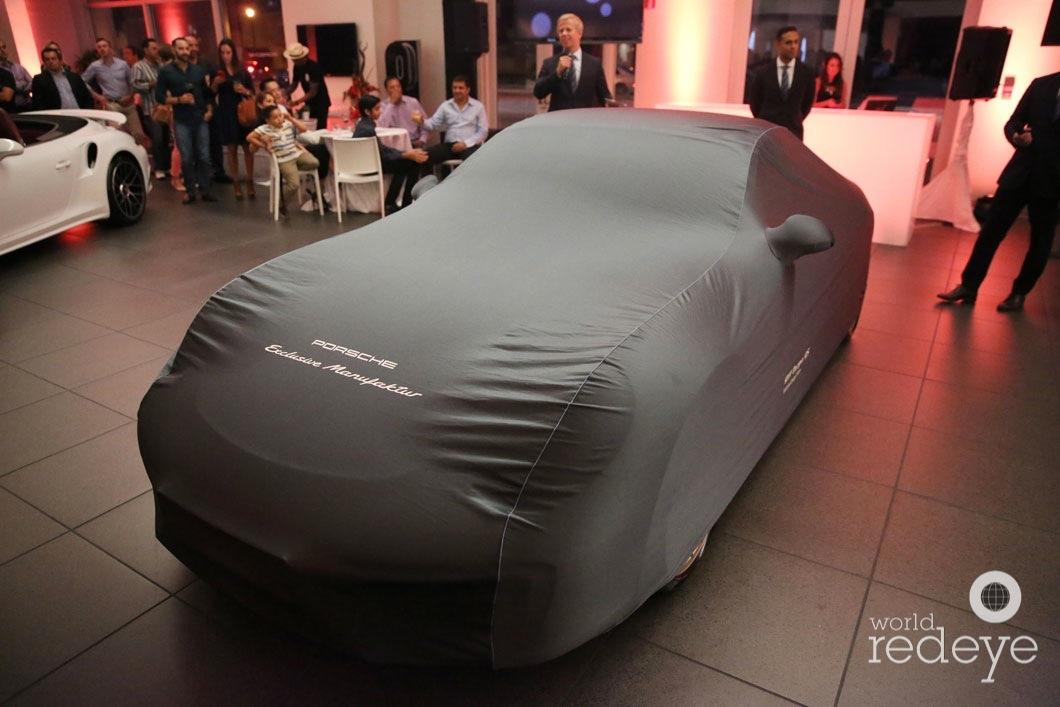 Porsche Exclusive Flagship Celebration - World Red Eye