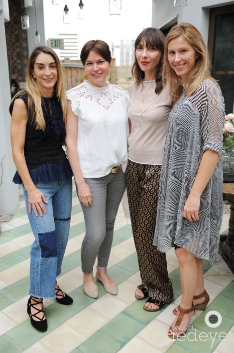 Janice Sullivan, Mariela Rovito, Elise Granjot, & Alicia Bilbao