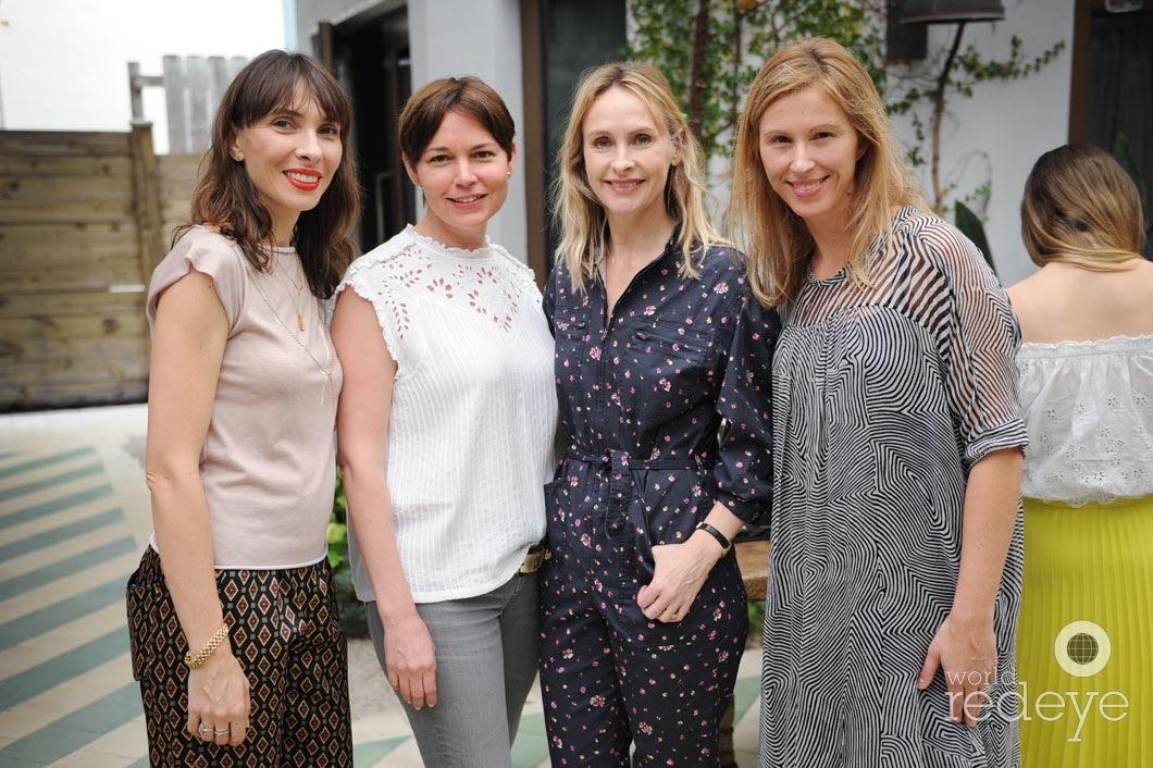 Elise Granjot, Mariela Rovito, Rebecca Taylor, & Alicia Bilbao