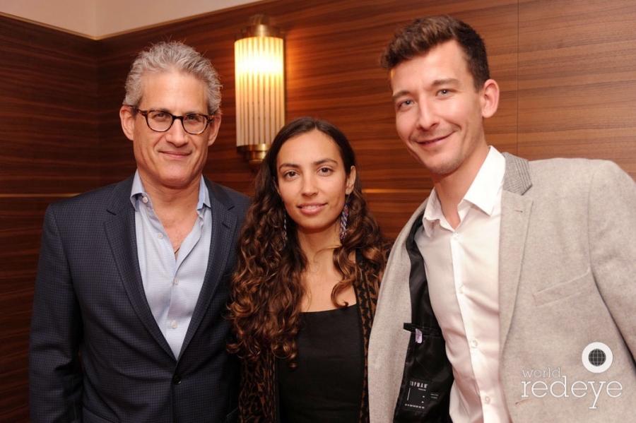 Michael Sellinger, Malia Scharf, & Dylan Crossman