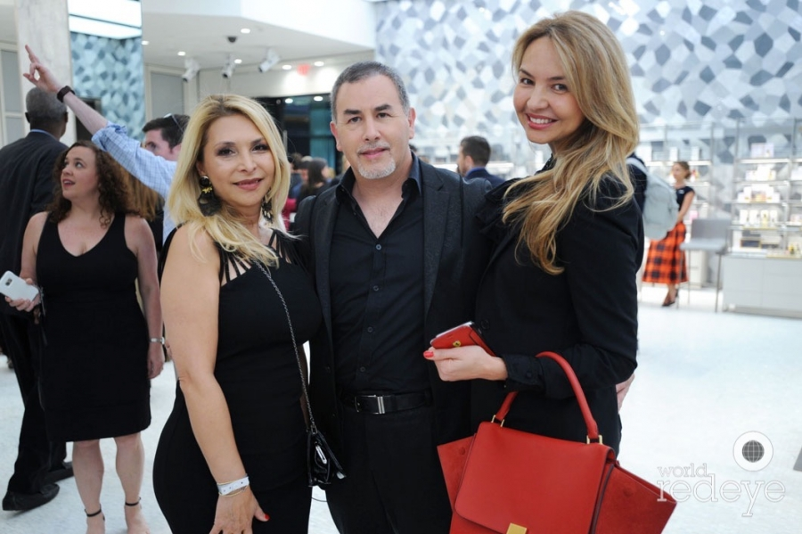 Evelin Perez, Federico Teran, & Albina Nova