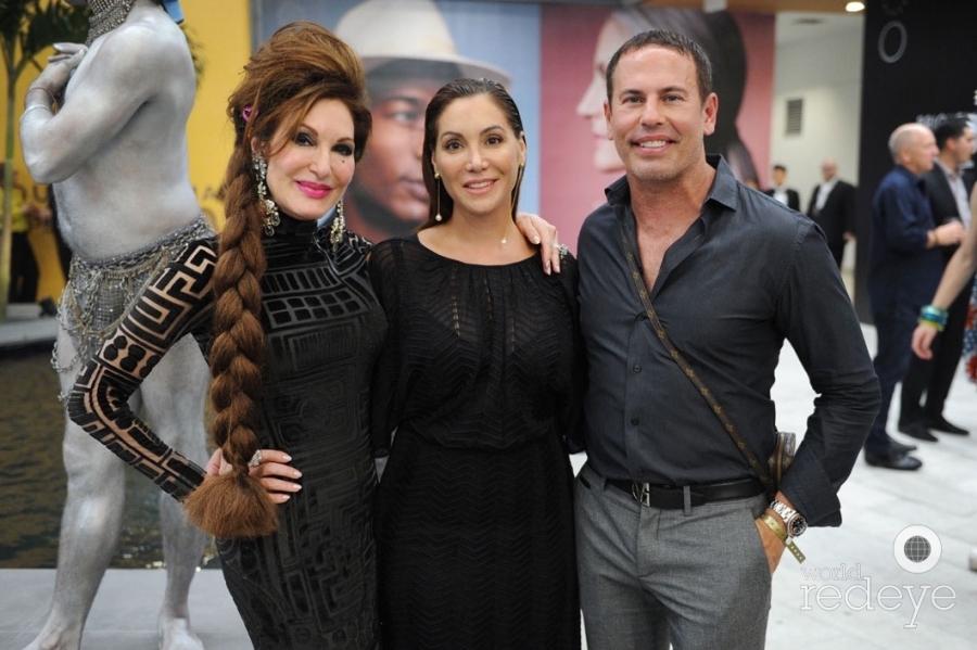 Tara Solomon, Soledad Lowe, & Danny Jelaca