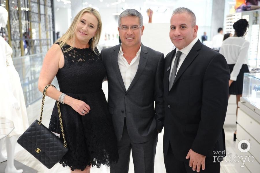 Nicole Lazano, Edgar Lazaro, & Ara Kazarian