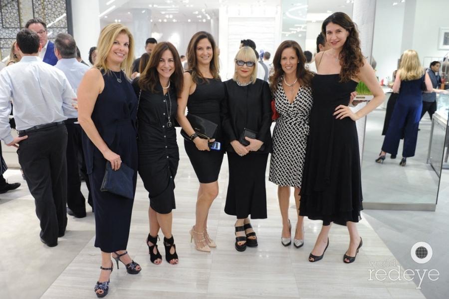 Leslie Wolfson, Sabrina Robinson, Nancy Bernstein, Elysze Held, Galia Pennekamp, & Carolyn Travis