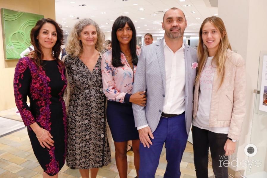 Maria Carvalho, Constance Collins, Ana Maria Zuleta, Julien Bigan, & Isabela Del Oca