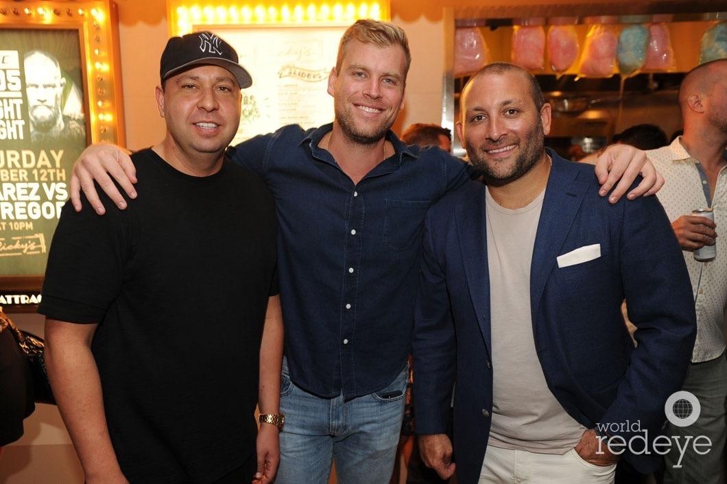 Justin Levine, Jared Galbut, & Keith Menin