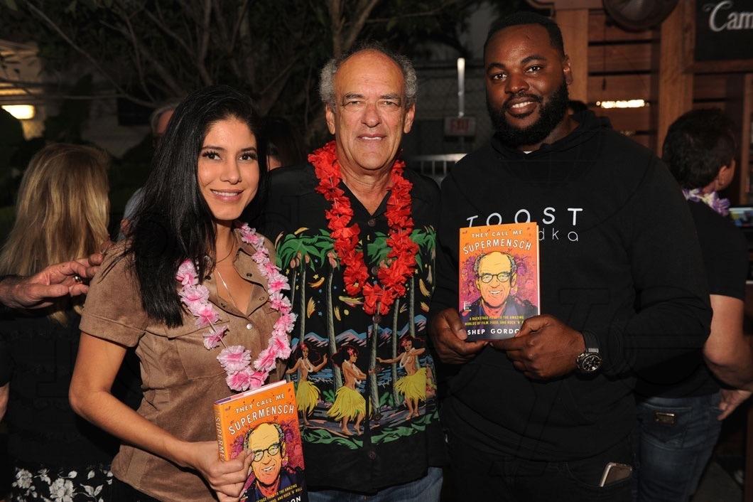 Anie Louis, Shep Gordon, & Mr. Toast