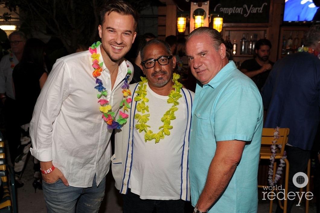 Rich Wilkerson Jr., Marcus Suarez, & Tommy Pooch