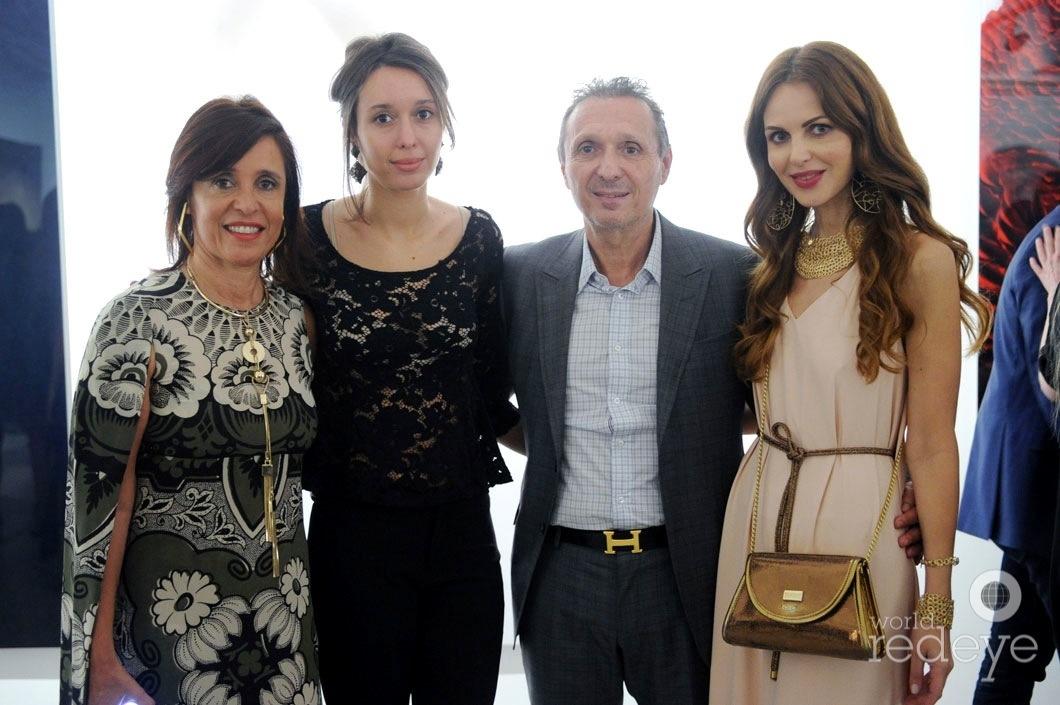 Patricia Pacino de Maman, Lucia Maman, Daniel Maman, & Athena Marturet