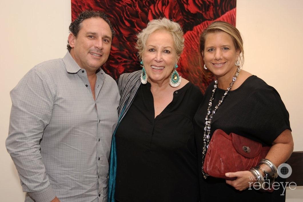 Michael Shore, Iran Issa Khan, & Mary Jo Shore