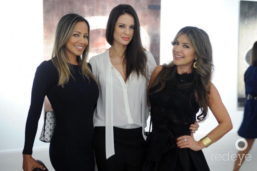 Diana Arce, Amanda Blanco, & Mary Montero
