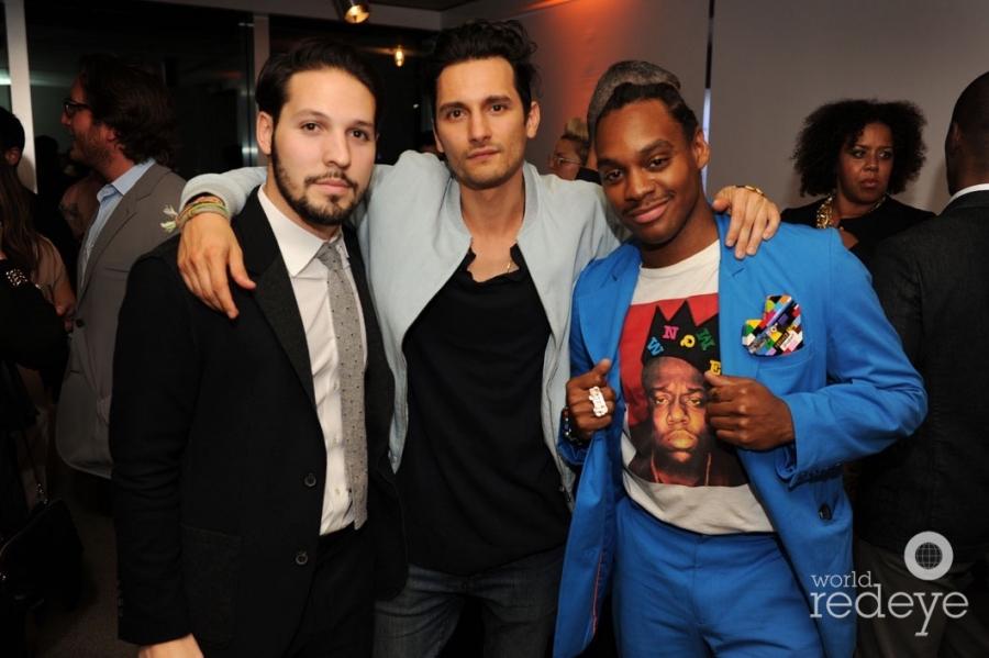 Rafael Gill, Camilo Rios White, & Ricky and Dee
