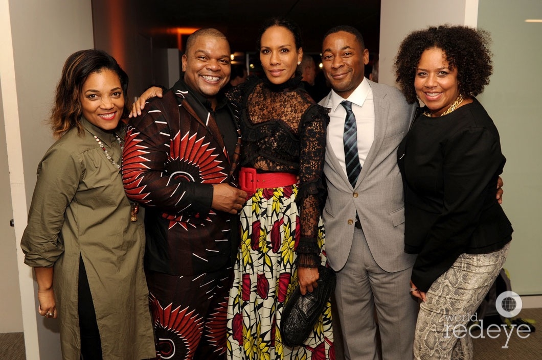 Amaris Jones, Kehinde Wiley, Barbara Becker, Franklin Sirmans, & Jessica Sirmans