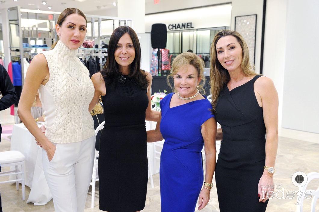 Christy Martin, Vivianne Kurzweil, Swanee DiMare, & Carol Iacovelli