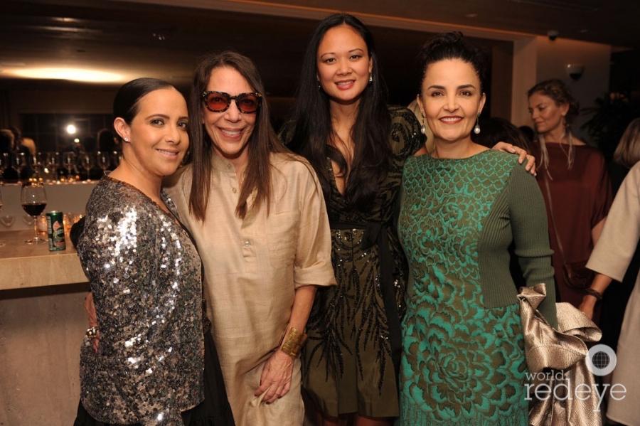 Fernanda Domit, Sam Robins, Criselda Breene, & Susie Wahab