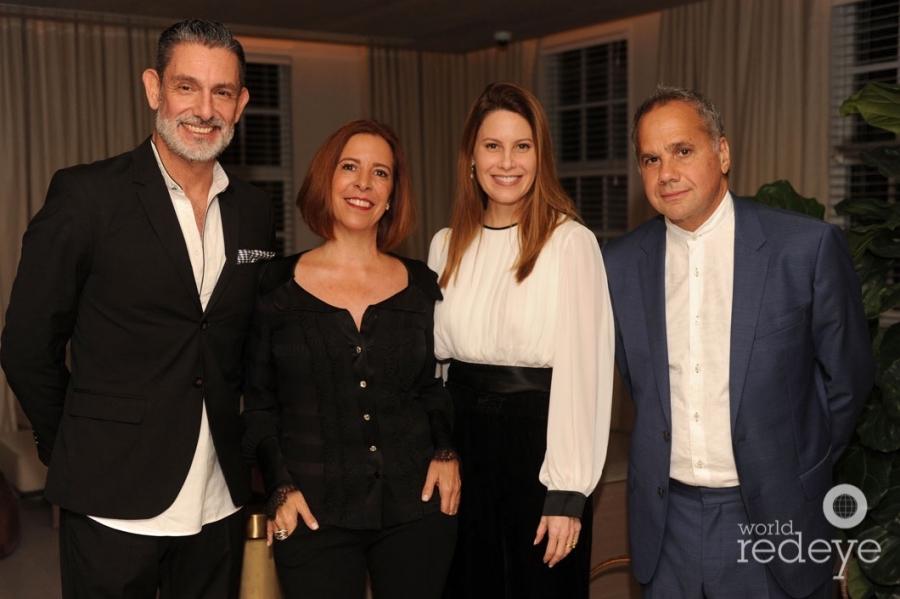 Manuel Martínez-Fresno, Tanya Brillembourg Capriles, Corina & Alex Thermiotis