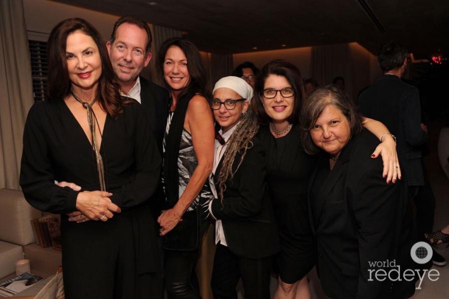 Debra & John Lair, Victoria Moore, Crispy Soloperto, Elizabeth Schwartz, & Lydia Martin