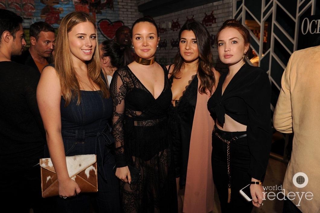 Lizzy Martinez, Gaby Beyer, Nikolette Machado, & Sofia Habib