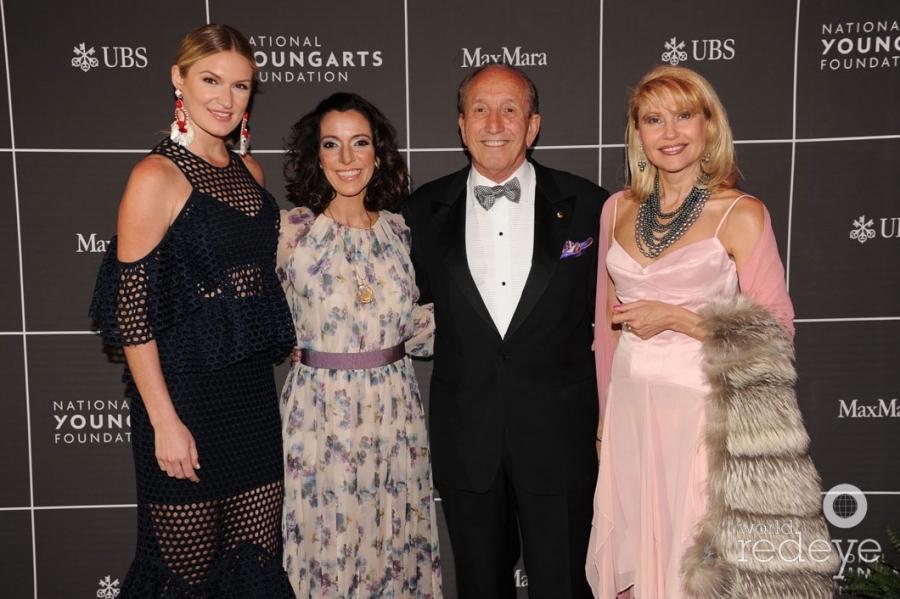 Sarah Arison, Carolina García Jayaram, Maurice Zarmati, & Alina Gjerpen