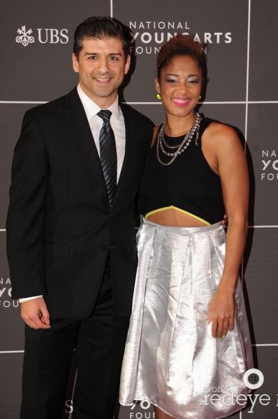 Tony Yazbeck & Amanda Seales