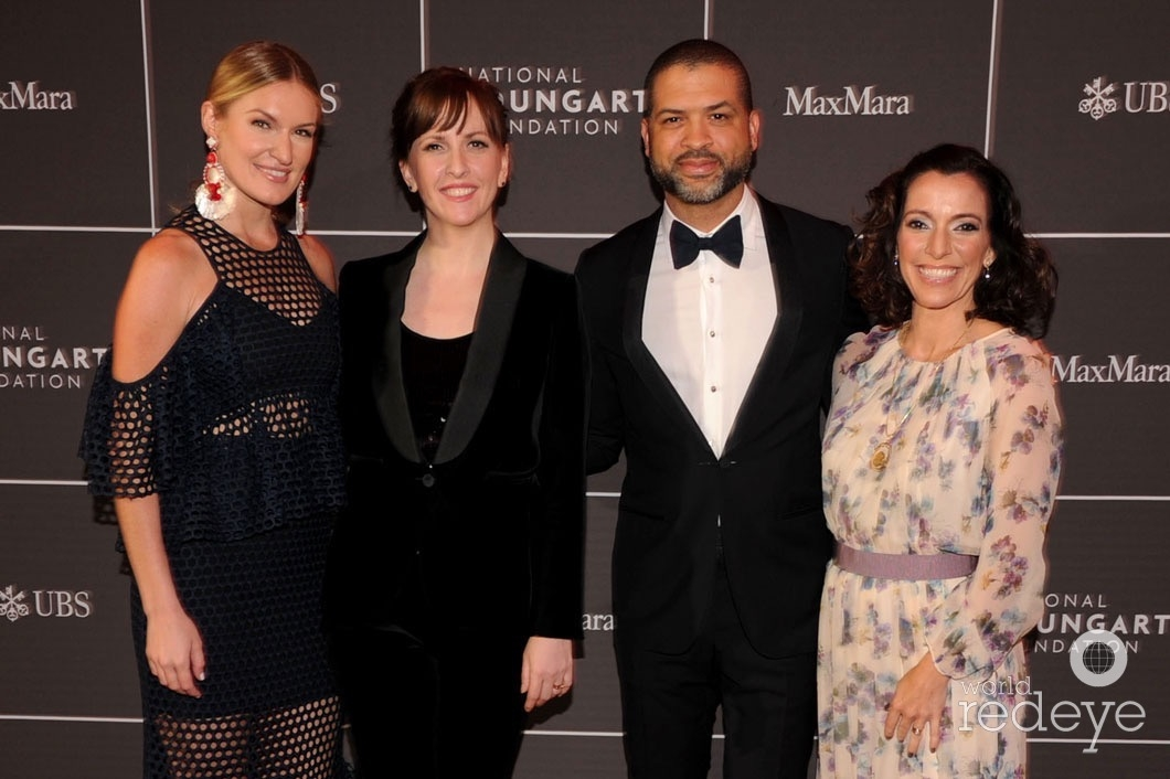 Sarah Arison, Jessica Lang, Jason Moran, & Carolina Garcia Jayaram