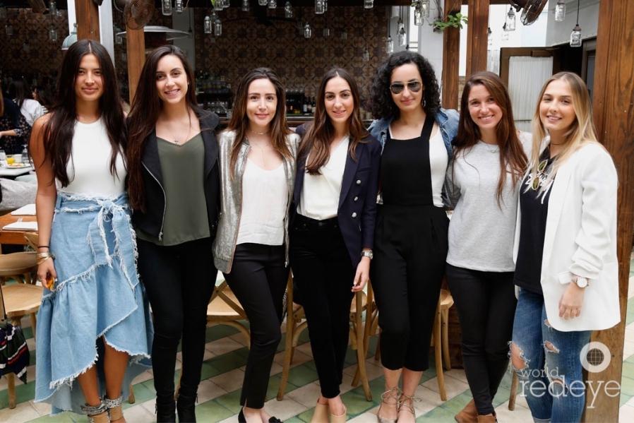22-Taka Yamada, Dani Medellin, Natalia Piñeros, Irene Yosifove, Marissa Labadie, Daniela Llorente, & Bella Cortez