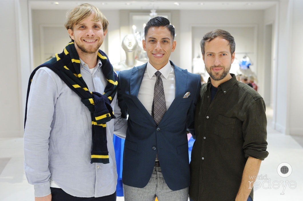 5-Christopher de Vos, Christian Andrade, & Peter Pilotto