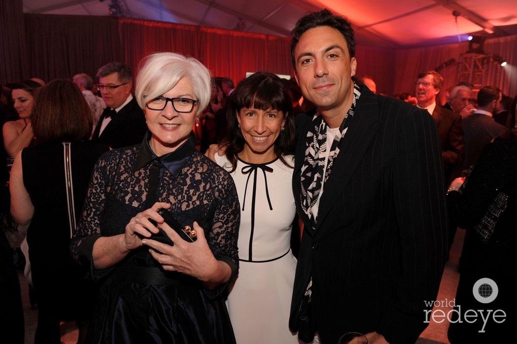 Victoria Rogers, Lisa Leone, & Paris Kain