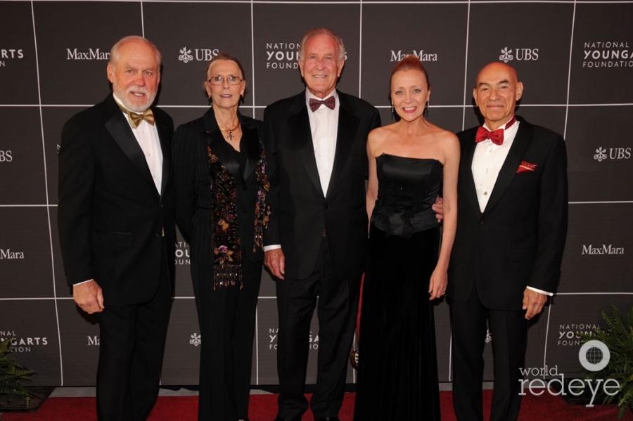 Harry & Marsha Hersh, Bill Tillett, Clare & Bill Banchs