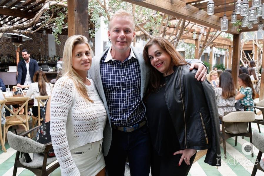 Bianca Coletti, Laura Ganazo & Joe Depiro