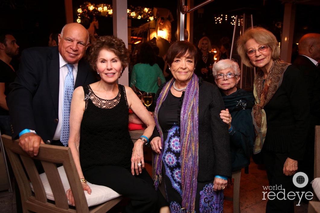 29-Ted Weinreich, Ellen Goldschild, Onnie Wmhitef, Phyllis Weitman, & Joyce Bloch