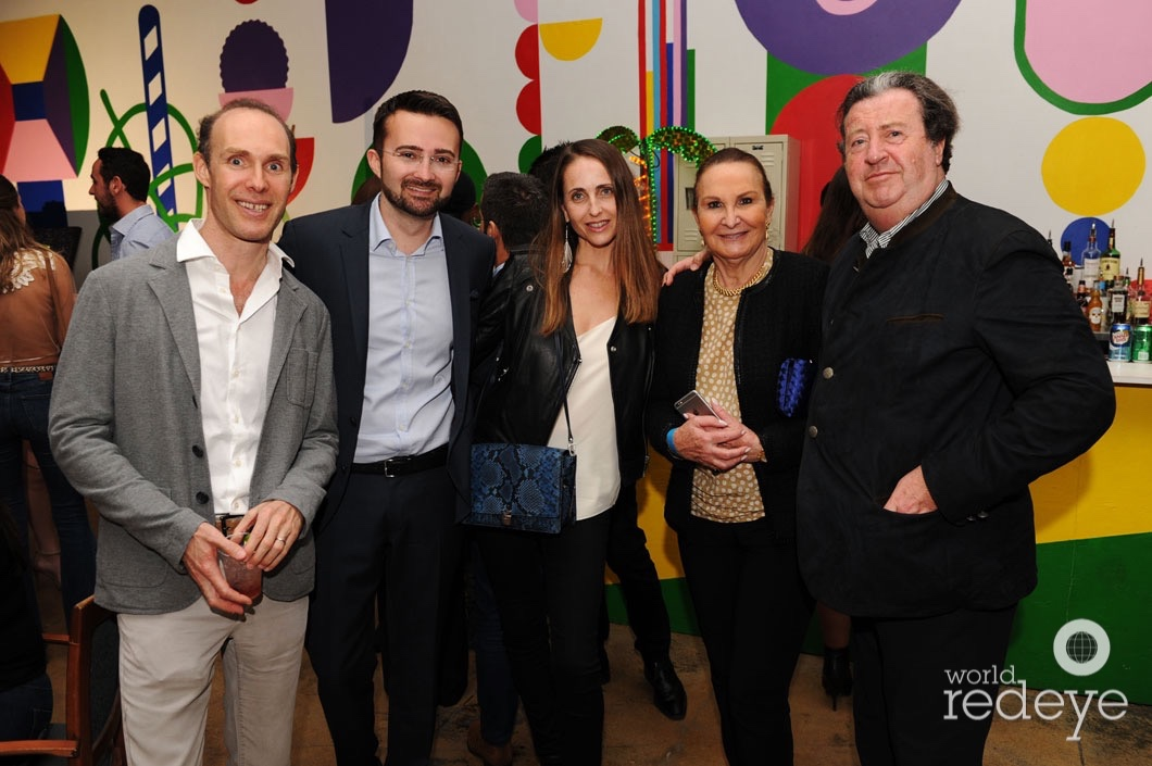Alexis Bitterman, Florian Jouin, Caroline Bidermann, Sylviane Mauboussin, & Patrick Mauboussin