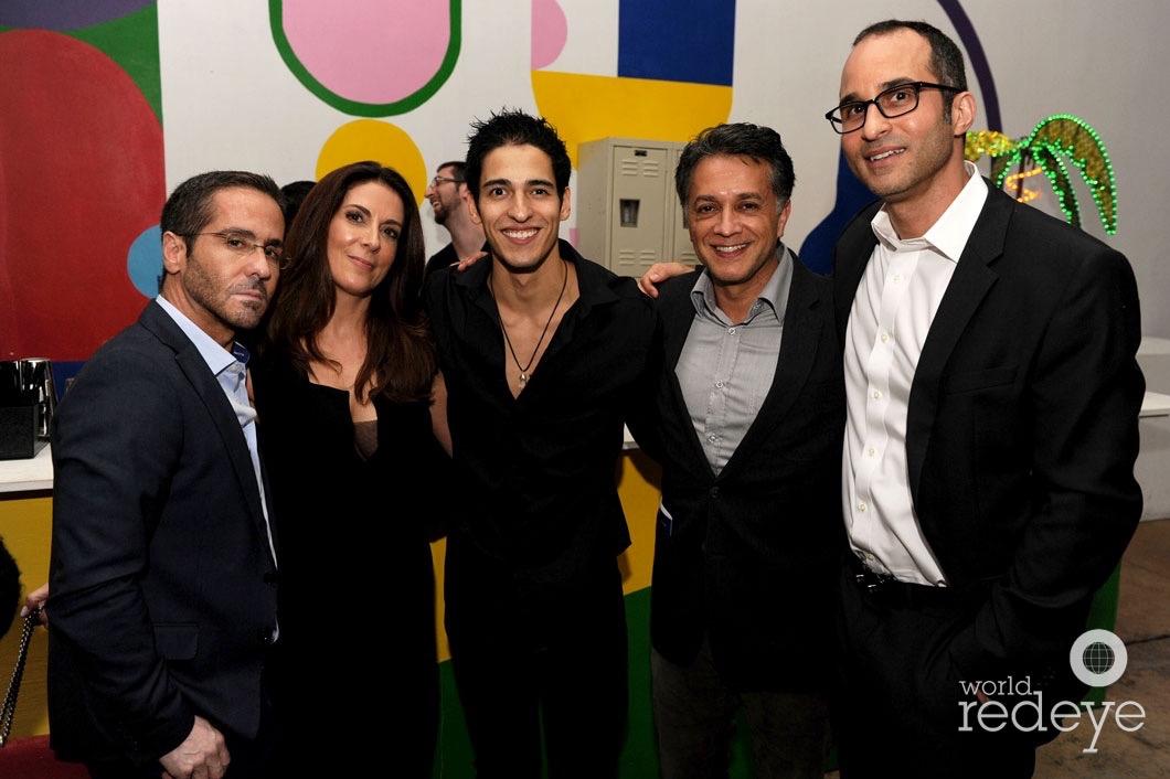 Antonio Beck, Savine Otamensi, Julian Duque, Roberto Rubalcaba, & Richard Tojdowski