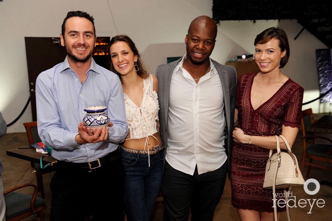 Carlos Lopez, Nina Bergeret, Adrian Burke, & Anabella Harvey