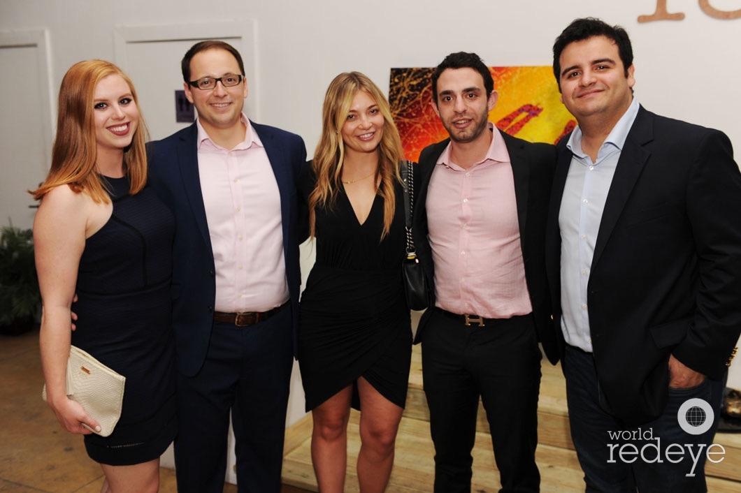 Kristen Haake, Chris Haake, Elena Vertlib, Beau Hequin, & Gustavo Perez