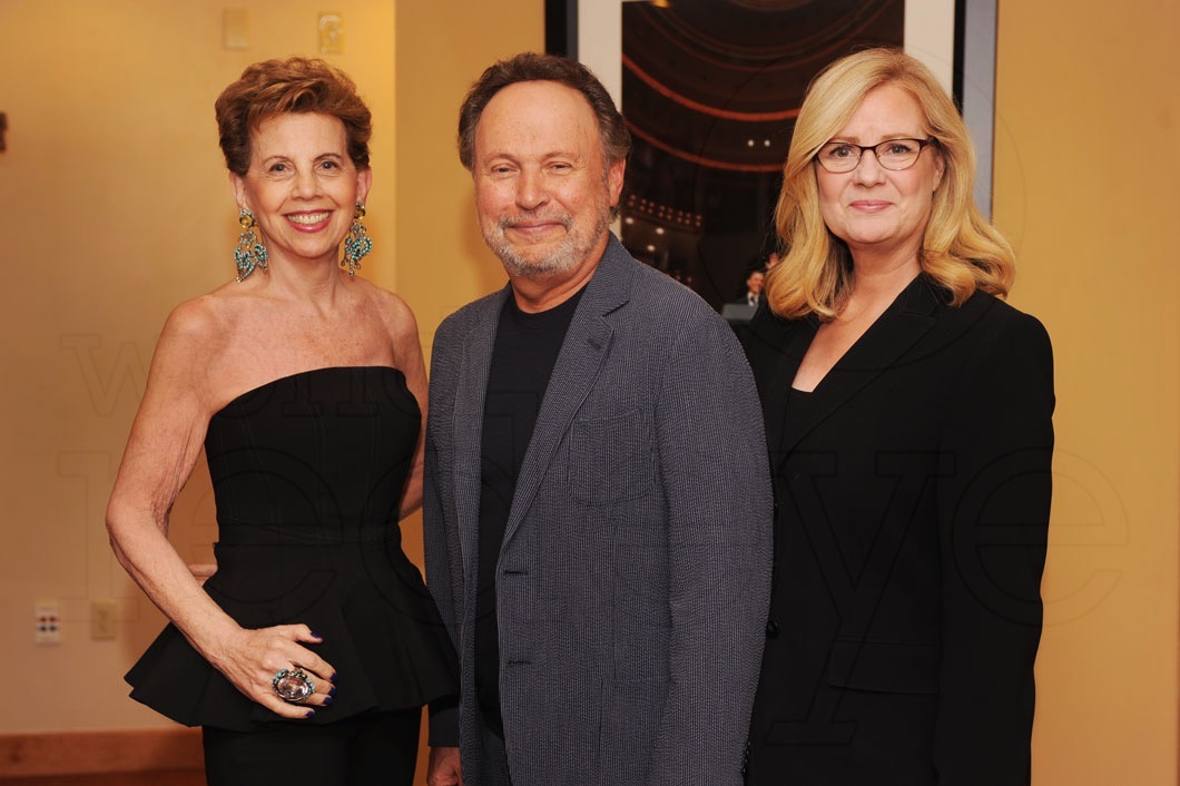 2-Adrienne Arsht, Billy Crystal, & Friend