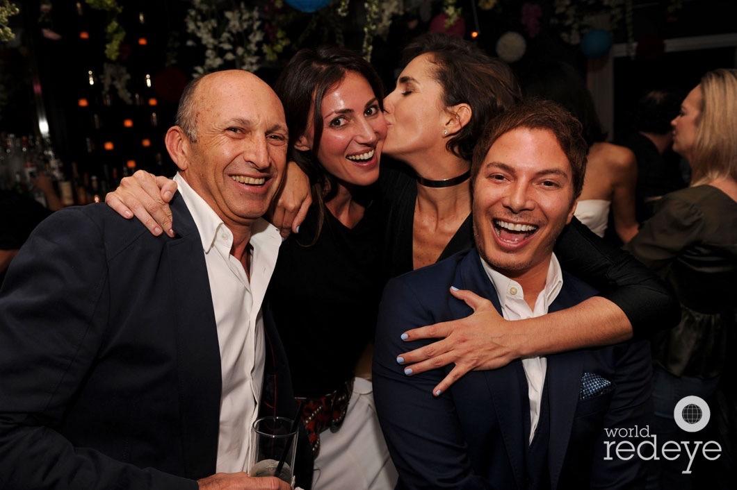 Ricardo Dunin, Martina Basabe, Marcella Novela, & Nick D'Annunzio