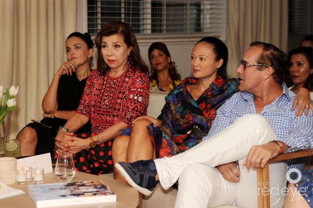 23-Susie Wahab, Princess Firyal speaking, Criselda Breene, & Jonathan Breene